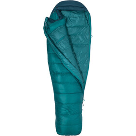 Marmot Angel Fire Sleeping Bag regular Women, malachite/deep teal